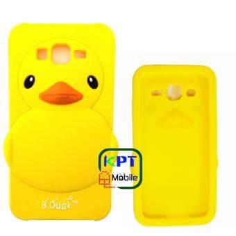 KPT เคสซิลิโคนเป็ดเหลืองสำหรับ Samsung Galaxy J7 Prime