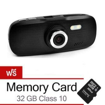 Riche กล้องติดรถยนต์ DVR G1W NT 96650 Full HD (Black)) Free Memory card 32 GB