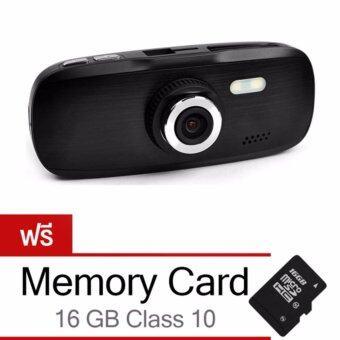 Morestech กล้องติดรถยนต์ รุ่น G1W NT96650 (Black) ฟรี Memory Card 16 GB Class10
