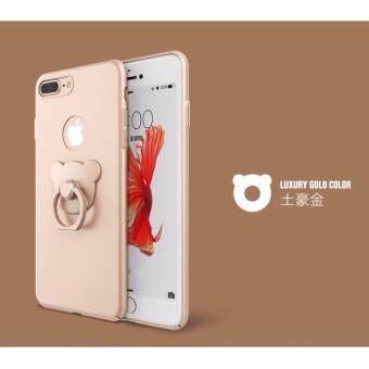 D8 เคส PC แหวนหมี สีทอง สำหรับ iPhone 6 Plus / iPhone 6s Plus