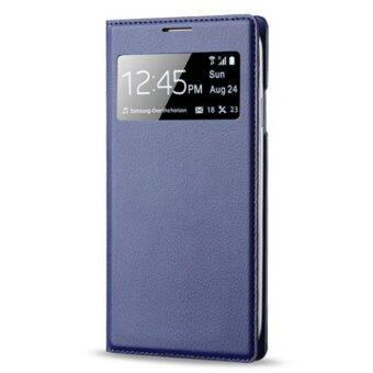 Harga S-View Window Flip Leather Case For Samsung Galaxy S4 IV i9500 Blue - intl