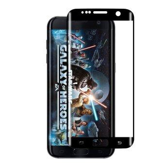 Cessory ฟิล์มกันรอย กระจกนิรภัย 3D โค้ง เต็มจอ คลุมขอบ Samsung Galaxy S7 edge / G935 0.26mm (สีดำ)