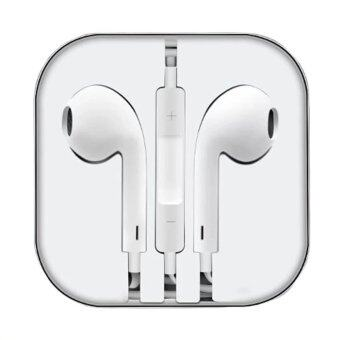 Ampko Smart Earphone หูฟังสำหรับไอโฟน iPhone / iPad / iPod (สีขาว) !