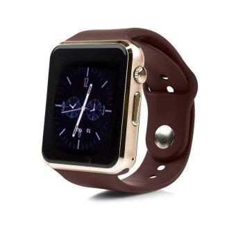 Smart Watch นาฬิกาบลูทูธมีกล้อง ใส่ซิมได้ รุ่น A8 (สีน้ำตาลทอง)