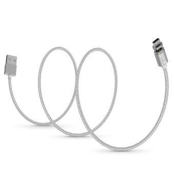 ฉบับ Wsken Mini 2 ไมโครยูเอสบีโลหะแม่เหล็กสายชาร์จ USB 2.0 อัจฉริยะชาร์จเร็วชาร์จสายซิงค์ข้อมูลกับจอแสดงผล led แสดงสถานะสำหรับ Android สมาร์ทโฟนแท็บเล็ต