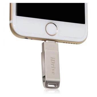iDrive iDiskk Pro USB 2.0 16GB แฟลชไดร์ฟสำรองข้อมูล iPhone,IPad แบบหมุน