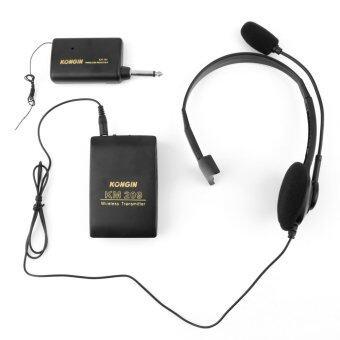 โอ้ไร้สายระยะเมกกะเฮิร์ตซ Lavalier ปกชุดหูฟังไมโครโฟนวิทยุ Fm และระบบโลหิตจาง