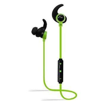 ไร้สายบลูทู ธ ชุดหูฟัง, หูฟังบลูทู ธ 4.0, HD เสียงสเตอริโอลดเสียงรบกวนชุดหูฟังบลูทู ธ กีฬากับการทำงานไมค์กีฬาออกกำลังกายที่โรงยิม Earbuds In-Ear สำหรับ iPhone, Android โทรศัพท์สมาร์ทอุปกรณ์บลูทู ธ - สนามบินนานาชาติ