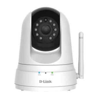 D-Link กล้อง IP ซูม/หมุนกล้องผ่านมือถือได้ รุ่น DCS-5000L (สีขาว)
