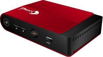 Phoenix กล่องรับสัญญาณ Digital TV Set Top Box DVB-T2 (สีแดง)