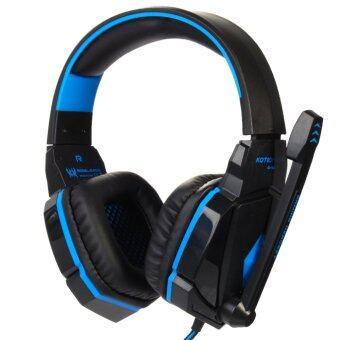 EACH G4000 หูฟังเล่นเกม (สีน้ำเงิน/ดำ)