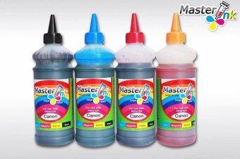 Masterink ink usa หมึกเติม Epson (สีดำ ฟ้า แดง เหลือง )ขนาด 1000 ml ชุดสุดคุ้ม 4 ขวด