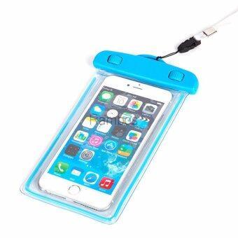 ซองกันน้ำเรืองแสง สำหรับมือถือ/สมาร์ทโฟน ที่มีขนาดหน้าจอไม่เกิน 5.5 นิ้ว
