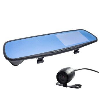 เปรียบเทียบราคา CK MOBILE กล้องติดรถยนต์ กระจกกล้องหน้า/หลัง รุ่น SL500 FULL HD1080 ข้อมูล