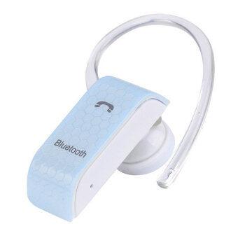 ไร้สายอเนกประสงค์ BT300 ชุดหูฟังบลูทูธหูฟังโทรศัพท์มือถือ (สีน้ำเงิน)