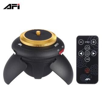 AFI MRP01 หัวมินิอิเล็กทริกพาโนรามา 360 รอบขาตั้งสำหรับเวลาล่วงหน้าสำหรับการโฟน GoPro เซลฟีติดกล้องกระเป๋ากล้องจิ๋วกล้อง SLR