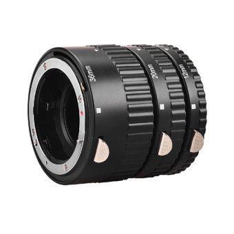 Meike ท่อต่อเลนส์ถ่ายมาโครนิคอน Df,D600,D610,D700,D750,D800,D810 หน้าสัมผัสโลหะ ปรับรูรับแสงได้ Nikon Macro Extension Tube