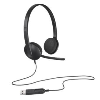 Logitech H340 ชุดหูฟังยูเอสบี-Intl