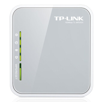 TP-Link Portable 3G/4G Wireless Router N150 TL-MR3020 (สีขาว)