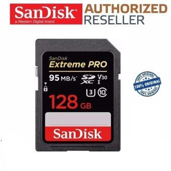 เช็คราคา Hot Sell Extreme Pro 128GB 95MB/s V30 U3 Class 10 4K UHS-I SDXC Memory Card SD Card (ORIGINAL) - intl check ราคา