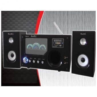 Music DJ 9100AB Speaker bluetooth ลำโพง ประกันศูนย์