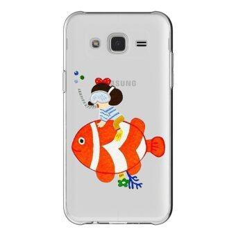 HugCase TPU เคส Samsung Galaxy Grand 2 เคสโทรศัพท์พิมพ์ลาย Nemo เนื้อบาง 0.3 mm