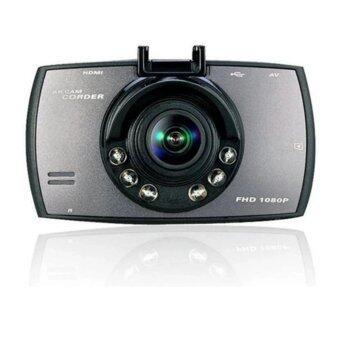 HD DVR Car กล้องวงจรปิดติดรถยนต์ Full HD อินฟราเรด 6 ดวง (สีดำ)