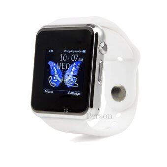 Person นาฬิกาโทรศัพท์ Smart Watch รุ่น A1 Phone Watch (White)