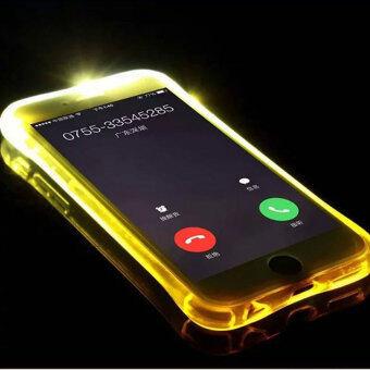 2559 คุณภาพดีที่สุด TTLIFE หลากสีวูบวาบเรียกเคสโทรศัพท์ Samsung S7 edge ฉาย (ส้ม)