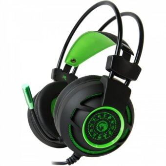 Marvo Gaming Headphones USB 7.1 หูฟังเกมมิ่ง รุ่น HG-9012 (Black/Green)