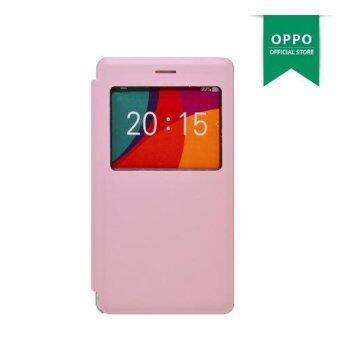 iLike เคสฝาพับ - Mirror 5 (Pink)
