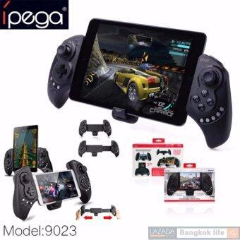 iPega เกมส์คอนโทรลเลอร์บลูทูธไร้สาย รุ่น PG-9023 (สีดำ)