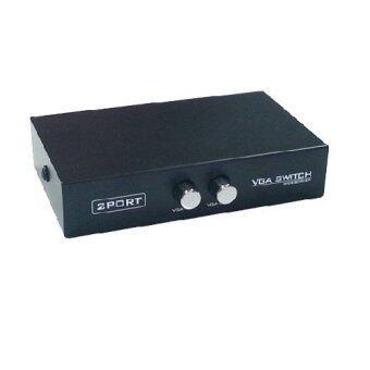 Mastersat VGA SWITCH 2X1 2 PORT ตัวต่อ VGA เข้า 2 ทาง ออก 1 ทาง ไม่ต้องใช้ไฟเลี้ยง