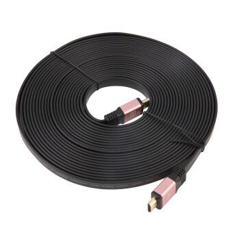 โอ้ HDMI 2.0( 4กิโลไบต์) 10แผ่นความเร็วสูงสายเคเบิลแบนทองชุบตัวเชื่อมต่อ