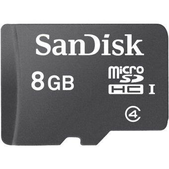 Sandisk เมมโมรี่การ์ด 8GB Class Micro SD SDHC MicroSD Memory Card