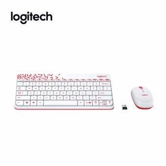Logitech MK240 Nano Wireless Keyboard Mouse Combo สีขาว(WHITE)