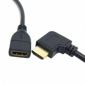 จากมุม 90องศาตัวเชื่อมต่อ HDMI 1.4 อีเทอร์เน็ตและ 3D type A ตัวผู้กับตัวเมียส่วนเคเบิล 0.5แผ่น