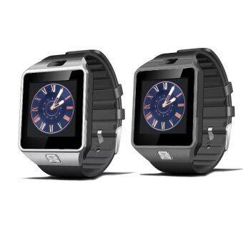 Smart Watch Z นาฬิกาโทรศัพท์ Smart Watch รุ่น A9 Phone Watch แพ็ค 2 ชิ้น (Silver/BLACK)