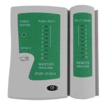 iremax อุปกรณ์ทดสอบสัญญาณสาย Lan/สายโทรศัพท์ Cable Tester ที่เช็คสายแลน