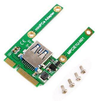 โอมินิ PCI-E เสียบบัตรเพื่อขยาย USB 2.0 ไรเซอร์การ์ดอะแดปเตอร์อินเตอร์เฟซ