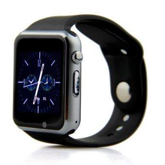 ATM กล้องนาฬิกาบูลทูธ ใส่ซิมได้ Bluetooth Smart Watch SIM Card Camera รุ่น G08 (สีดำ)