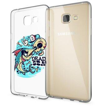 HugCase TPU เคส Samsung Galaxy A9 Proเคสโทรศัพท์พิมพ์ลาย Dead & Sea เนื้อบาง 0.3 mm