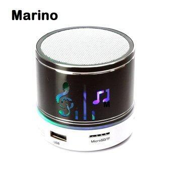 Marino ลำโพงบลูทูธ ลายตัวโน็ตเมโลดี้พร้อมไฟกระพริบ No.S01 - สีดำ