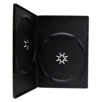 DVD Box Case กล่อง DVD กล่องดีวีดี 2 แผ่น สีดำ (Pack 10 Box)