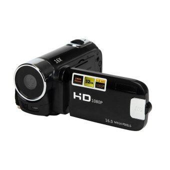 จท 1080P 16แผ่น 16 x กล้องวีดีโอ Dv ของกล้องถ่ายวิดีโอดิจิตอลซูม (สีดำ)