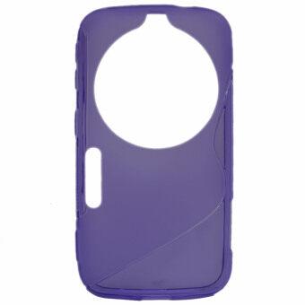 Vococal tpu case สำหรับ Samsung Galaxy K Zoom (สีม่วง)