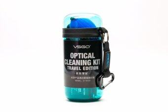 Harga VSGO OPTICAL CLEANING KIT TRAVEL EDITION (BLUE D-15122)