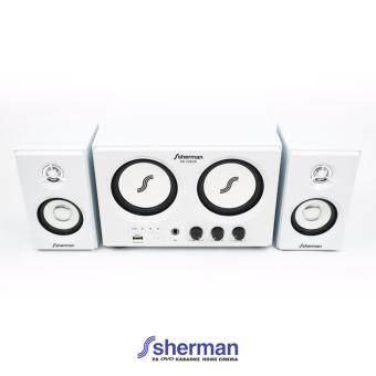 Sherman ชุดลำโพง Active 2.2 Ch (USB) รุ่น SB-22B2B (สีขาว)