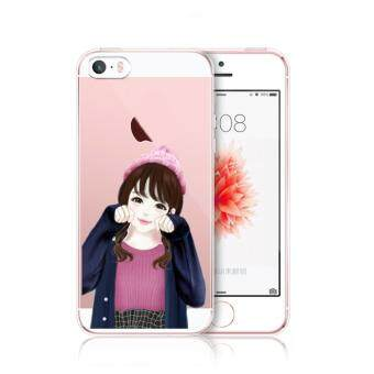 AFTERSHOCK TPU Case iPhone5 / 5S / SE (เคสใสพิมพ์ลาย My Gril) / Thin 0.33 mm