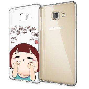 HugCase TPU เคส Samsung Galaxy A5 2016เคสโทรศัพท์พิมพ์ลาย Joob Joob เนื้อบาง 0.3 mm